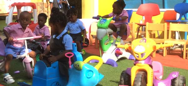 Montessori Nursery Playtime
