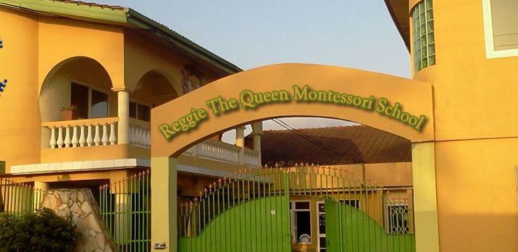 Montessori School Front Gate